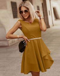 Šaty - kód 8917 - cappuccino