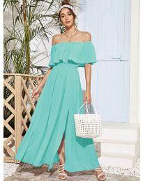 Šaty - kód 698 - tyrkysový