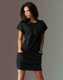 Šaty - kód 1585 - 1 - černá