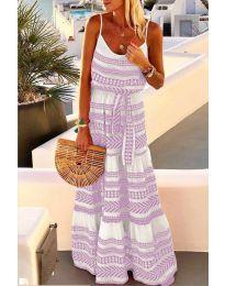 Šaty - kód 621 - fialová