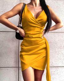 Šaty - kód 4678 - žlutá