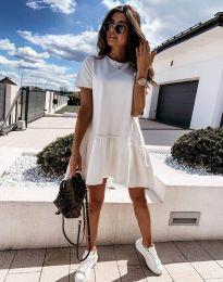 Šaty - kód 11890 - bíla