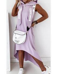 Šaty - kód 837 - fialová