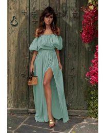 Šaty - kód 3336 - tyrkysový