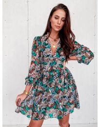 Šaty - kód 3161 - 2 - vícebarevné