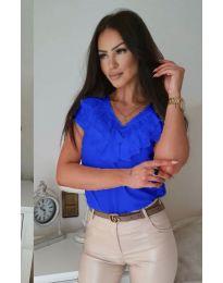 Tričko - kód 388 - modrý
