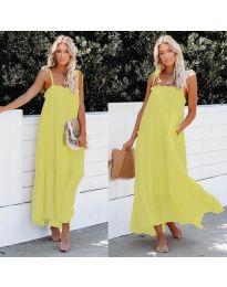 Šaty - kód 551 - žlutá