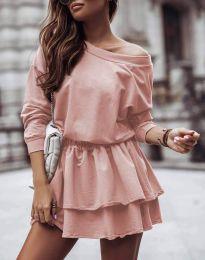 Šaty - kód 0525 - pudrová