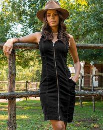 Šaty - kód 7735 - 2 - černá