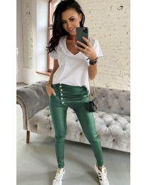 Kalhoty - kód 954 - olivová  zelená