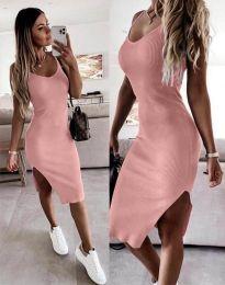 Šaty - kód 2378 - pudrová