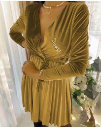 Šaty - kód 8619 - 1 - žlutá