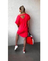 Šaty - kód 3080 - červená