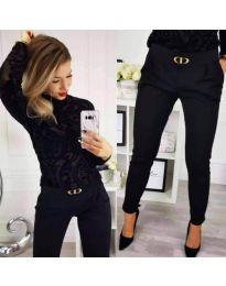 Kalhoty - kód 9907 - černá
