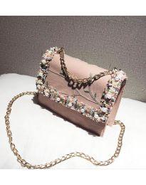 kabelka - kód B142 - růžová