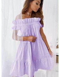 Šaty - kód 0299 - fialová