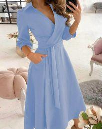 Šaty - kód 2861 - světle modrá