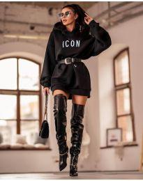 Šaty - kód 9333 - černá