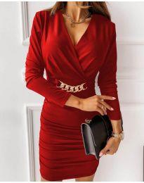 Šaty - kód 8999 - červená