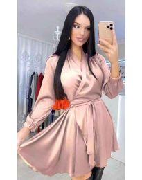 Šaty - kód 5931 - pudrová