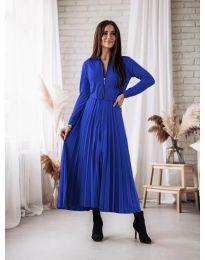 Šaty - kód 1544 - tmavě modrá