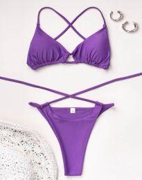 Plavky - kód 2671 - 4 - fialová