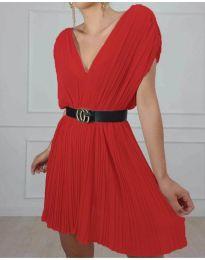 Šaty - kód 5670 - červená