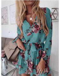 Šaty - kód 391 - tyrkysový