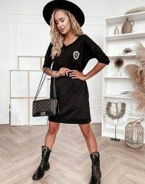 Šaty - kód 7089 - 1 - černá