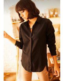 Košile - kód 10508 - 2 - černá