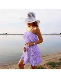 Šaty - kód 4849 - fialová