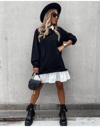 Šaty - kód 5516 - černá