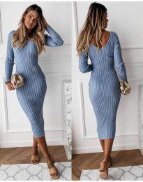 Šaty - kód 928 - modrý