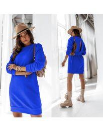 Šaty - kód 129 - modrá
