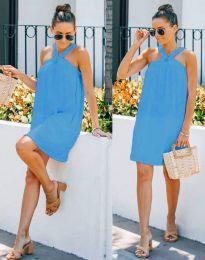 Šaty - kód 9103 - modrý