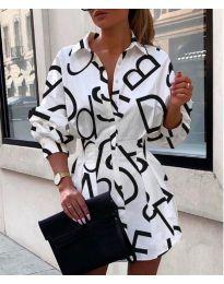Šaty - kód 749 - bíla