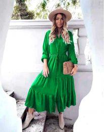 Šaty - kód 6522 - zelená