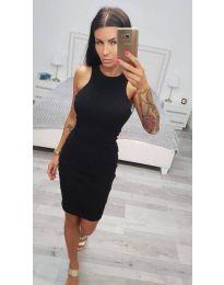Šaty - kód 2623 - černá