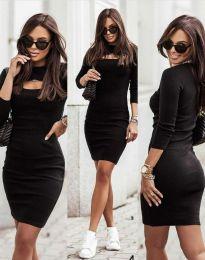 Šaty - kód 7376 - 2 - černá