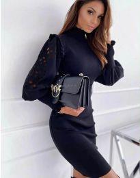 Šaty - kód 1638 - 3 - černá