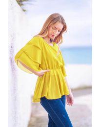 Tričko - kód 504 - žlutá