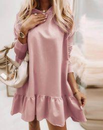 Šaty - kód 9376 - pudrová