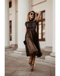 Šaty - kód 8090 - černá
