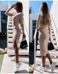 Šaty - kód 8291 - bežová