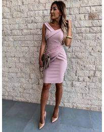 Šaty - kód 1104 - růžová