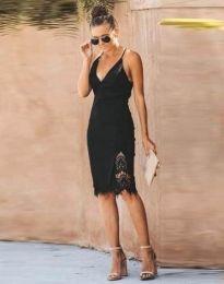 Šaty - kód 4580 - 1 - černá
