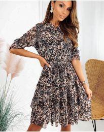 Šaty - kód 8877 - 3 - vícebarevné