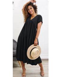 Šaty - kód 4475 - černá