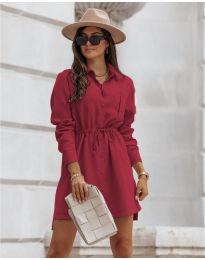 Šaty - kód 132 - bordeaux
