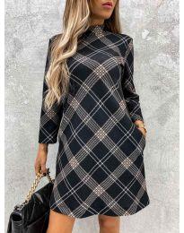 Šaty - kód 9187 - 2 - vícebarevné
